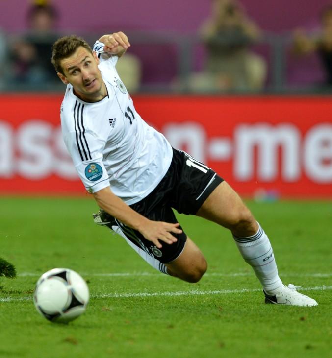 EURO 2012 EM Europameisterschaft Dänemark - Deutschland Klose