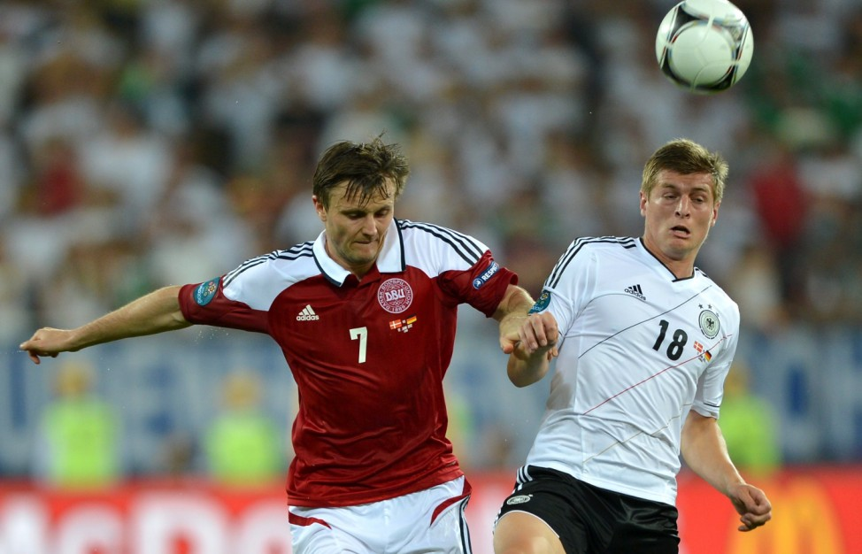 EURO 2012 EM Europameisterschaft Dänemark - Deutschland Kroos