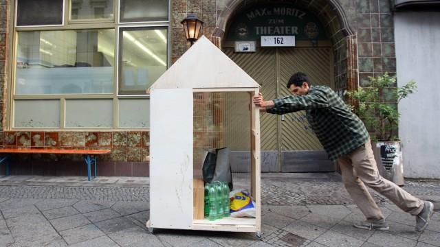 'Kleinstes Haus der Welt' rollt zum Guggenheim Lab