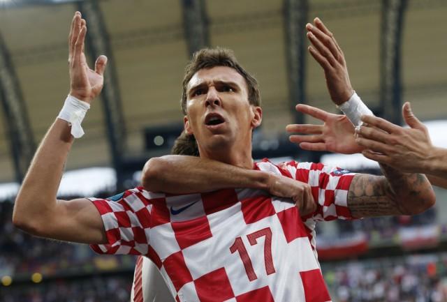 Mandzukic EM Euro 2012 Europameisterschaft Fußball