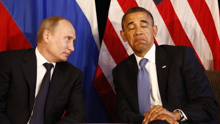 Barack Obama, Wladimir Putin, Russland, USA