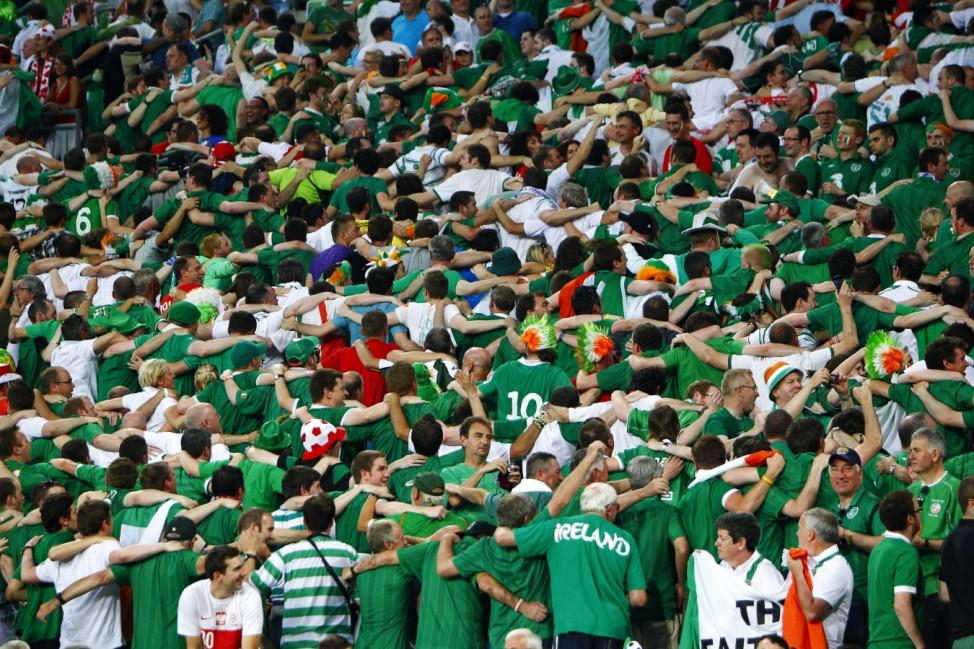 Irland, irische Fans