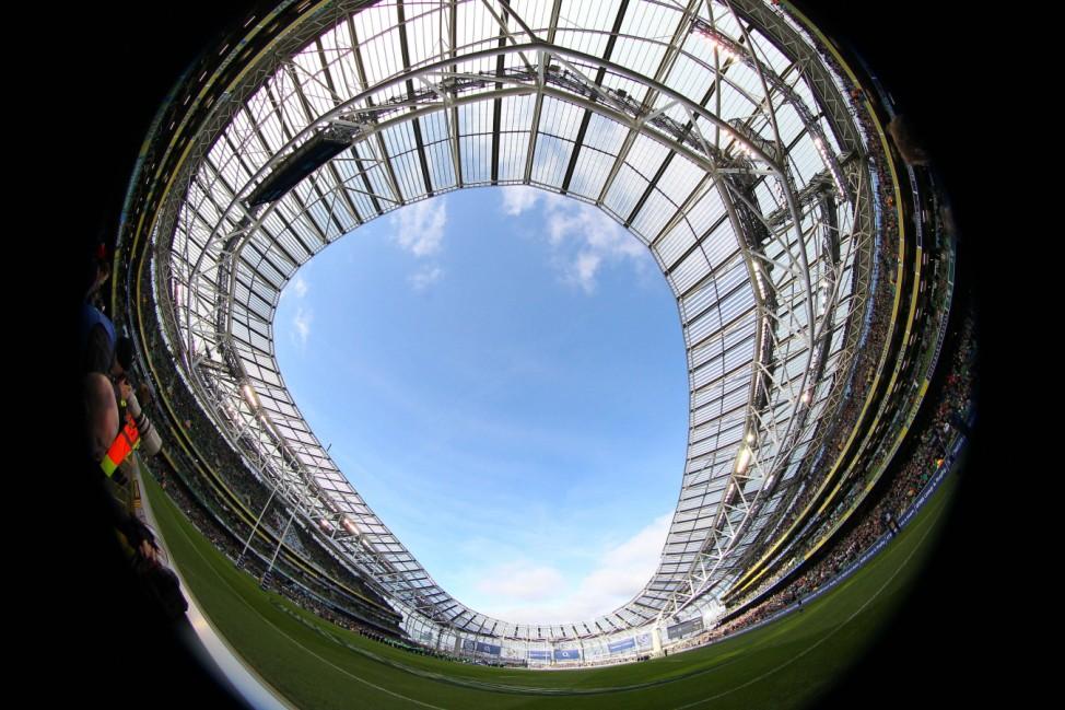 Aviva Stadium, Ireland, Irland, irische Fans