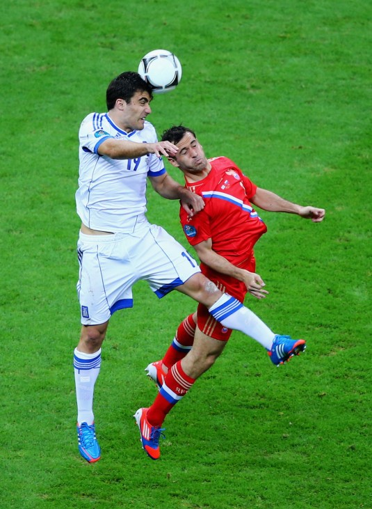 Greece v Russia - Group A: UEFA EURO 2012