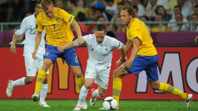 EURO 2012 - Schweden - Frankreich