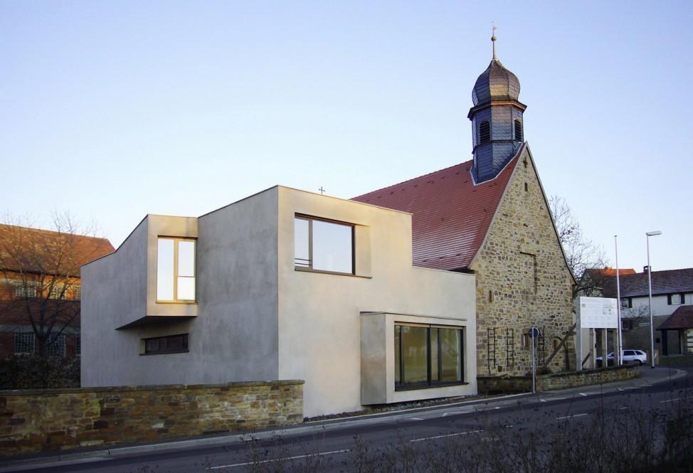 Architektouren 2012, Gerolzhofen, Kirche, Architektur
