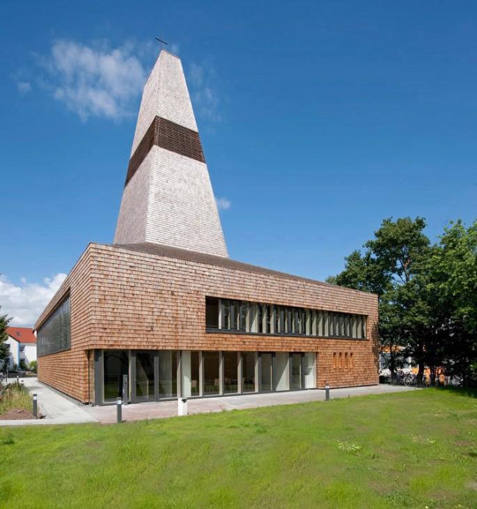 Architektouren 2012, Herzogenaurach, Kirche, Architektur