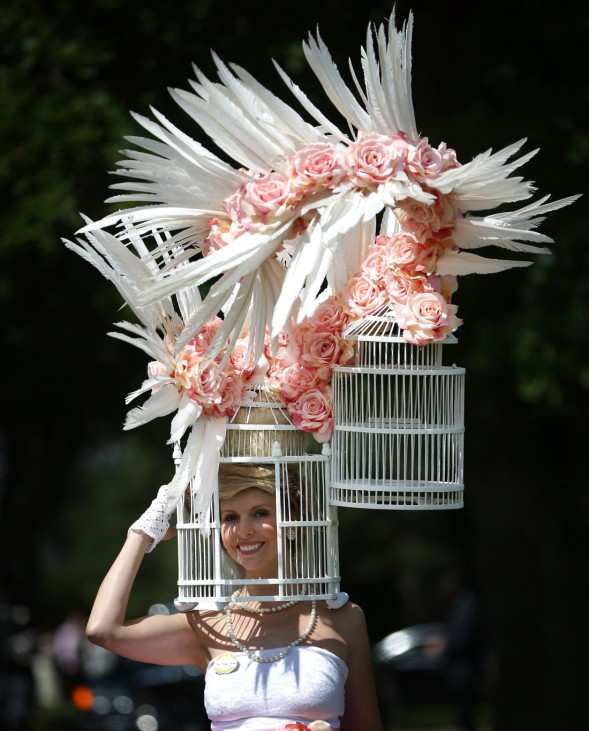Racegoers Attend The First Day Of Royal Ascot