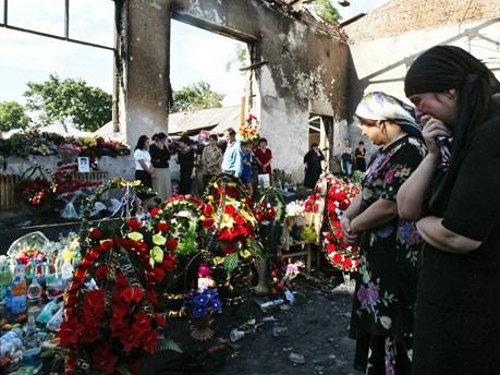 Belan Trauerfeier Terroranschlag, dpa