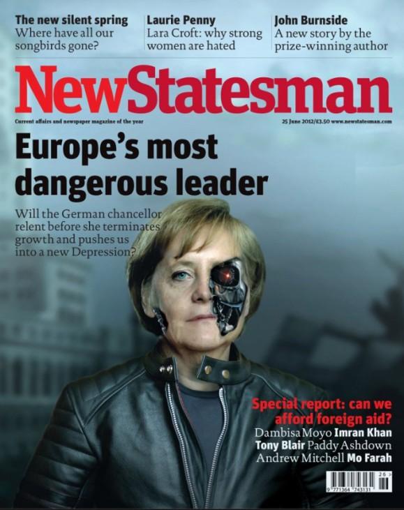 """""""New Statesman"""" vergleicht Angela Merkel mit Hitler und Terminator"""