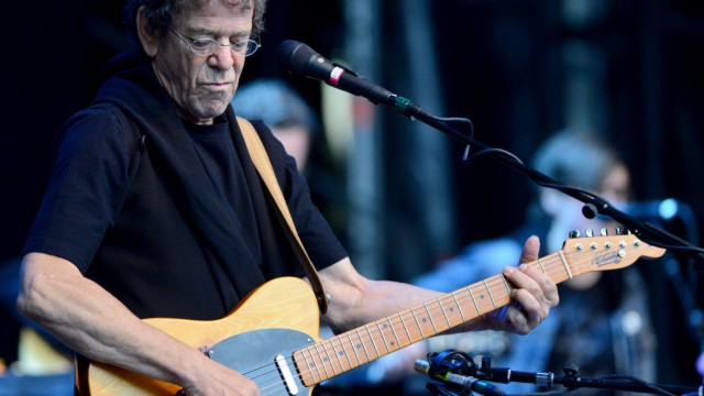 Lou Reed im Konzert in Berlin