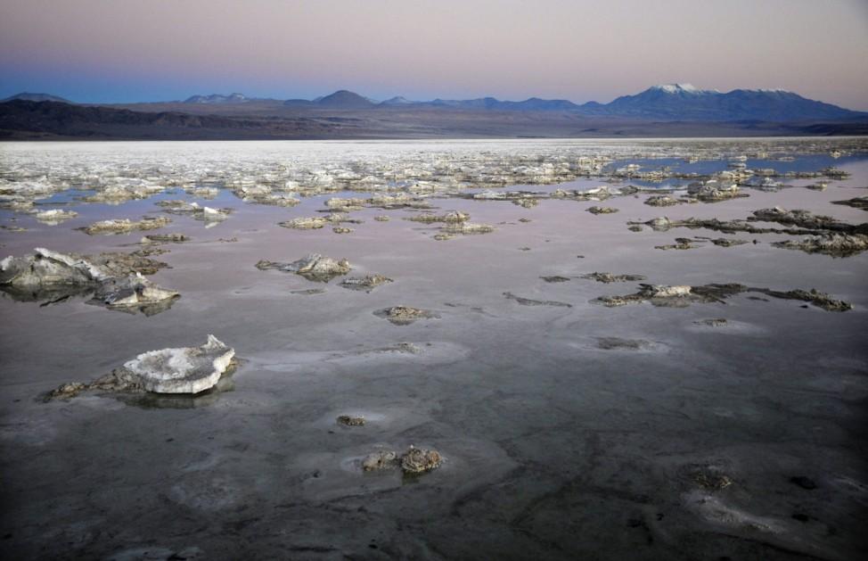 Chile lithium exploitation