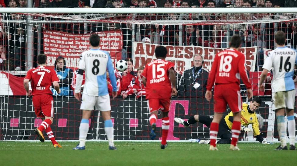 Ribery macht den Panenka gegen 1860