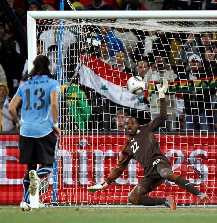 Abreu macht den Panenka im WM-Viertelfinale Uruguay gegen Ghana