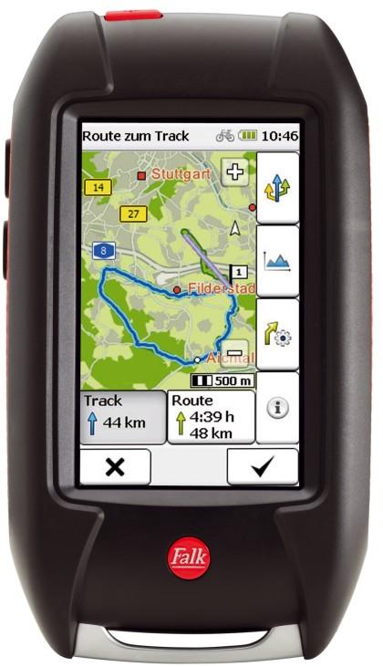 Fahrrad-Navigation