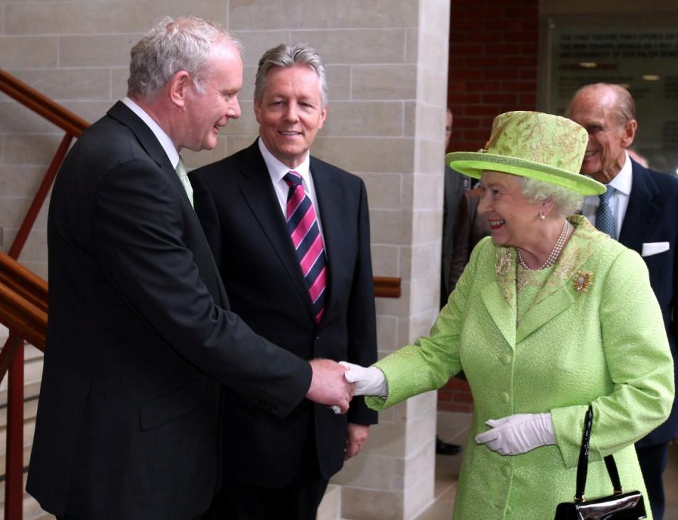 Queen Elizabeth II And Prince Philip, Duke Of Edinburgh Visit Northern Ireland - Day 2