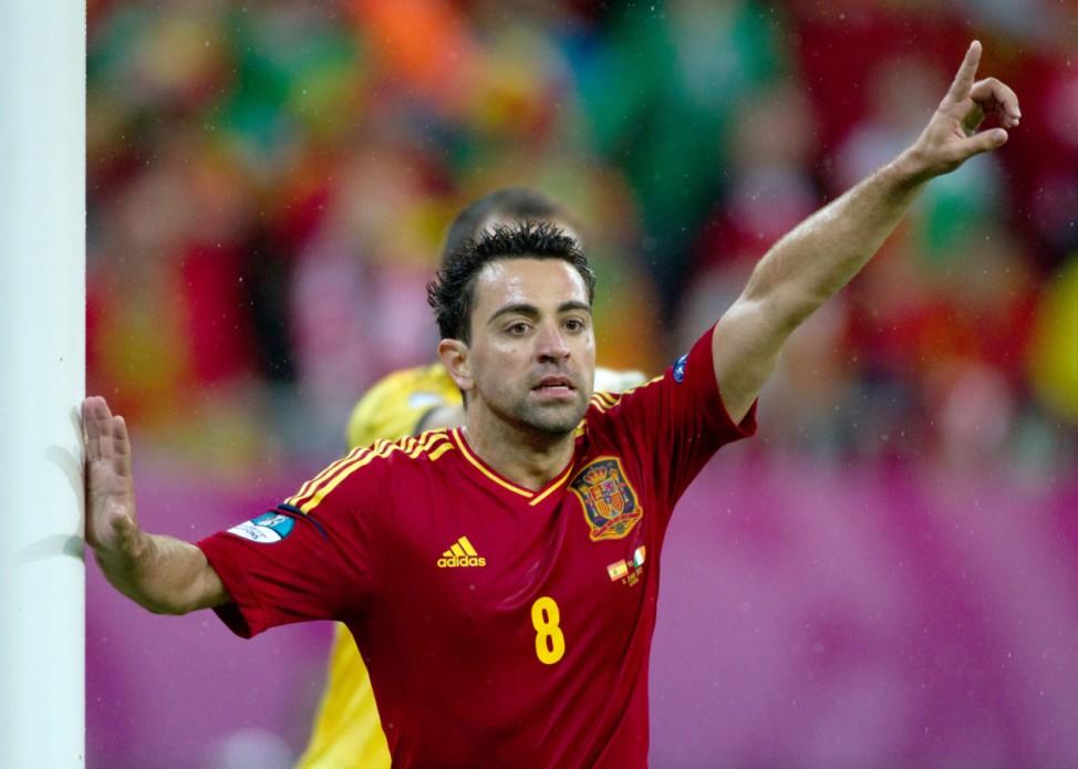 Euro 2012 - Xavi