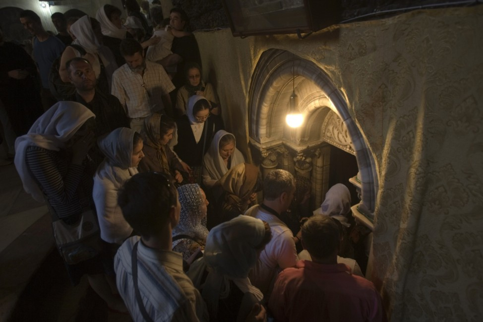 Geburtskirche Jesus in Bethlehem ist Unesco Welterbe