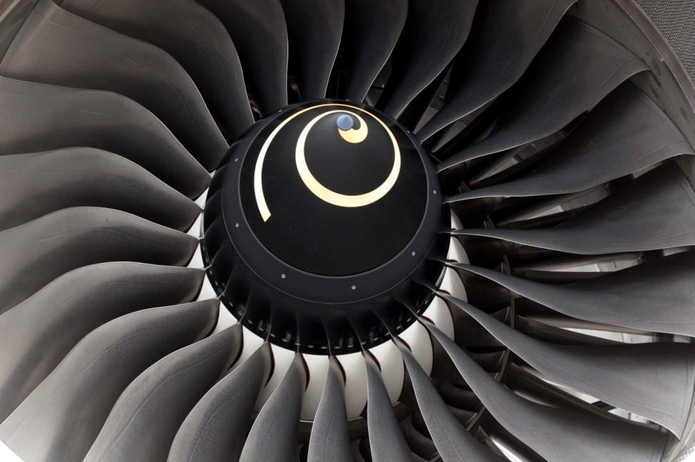 Triebwerk Flugzeug engine airplane plane