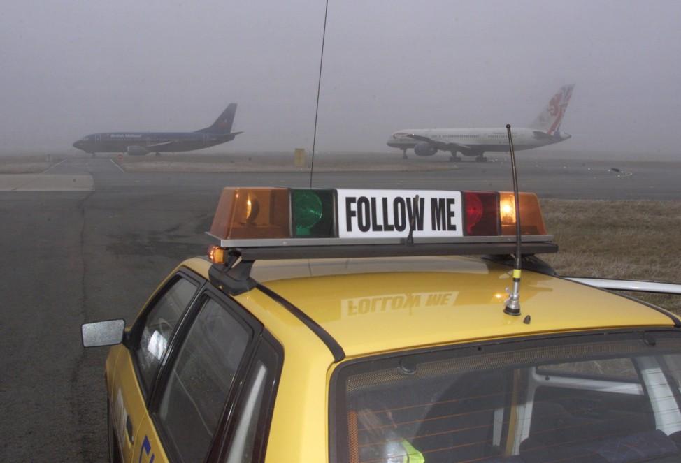 Follow me airport