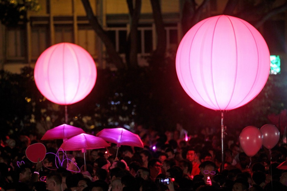 Pink Dot gay rights rally draws 15,000 people