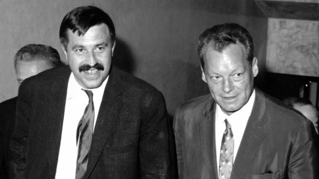 Günter Grass und Willy Brandt, 1965