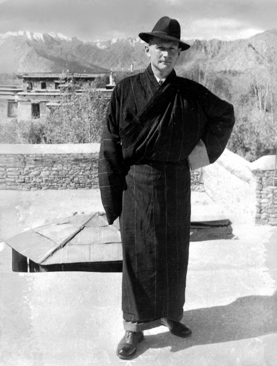 Heinrich Harrer in Tibet   Heinrich Harrer in Tibet