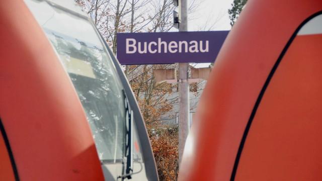 Bahnsteig Buchenau