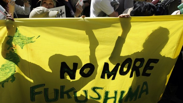 Anti-nuclear rally in Japan