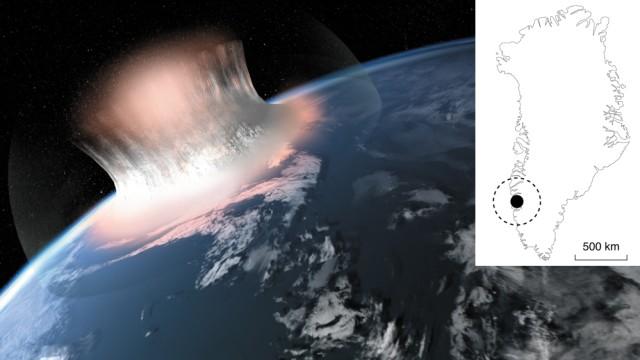 Meteoriteneinschlag in Grönland