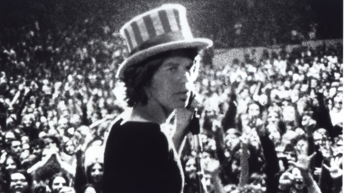 MICK JAGGER IN GIMMIE SHELTER