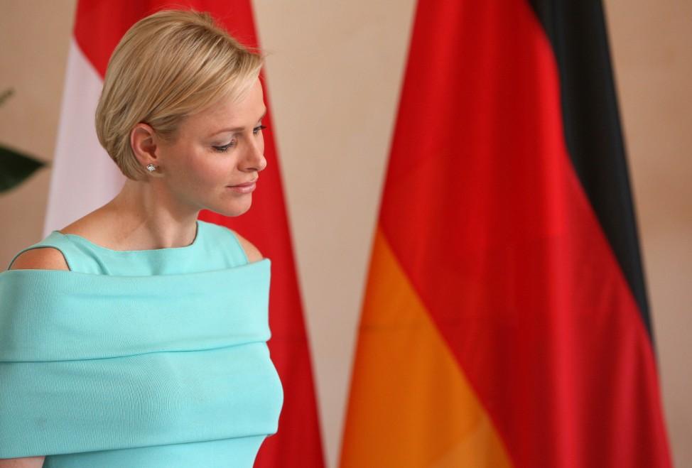 Fuerstenpaar aus Monaco besucht Berlin