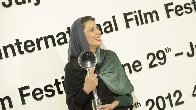 Die iranische Schauspielerin Leila Hatami in Karlovy Vary