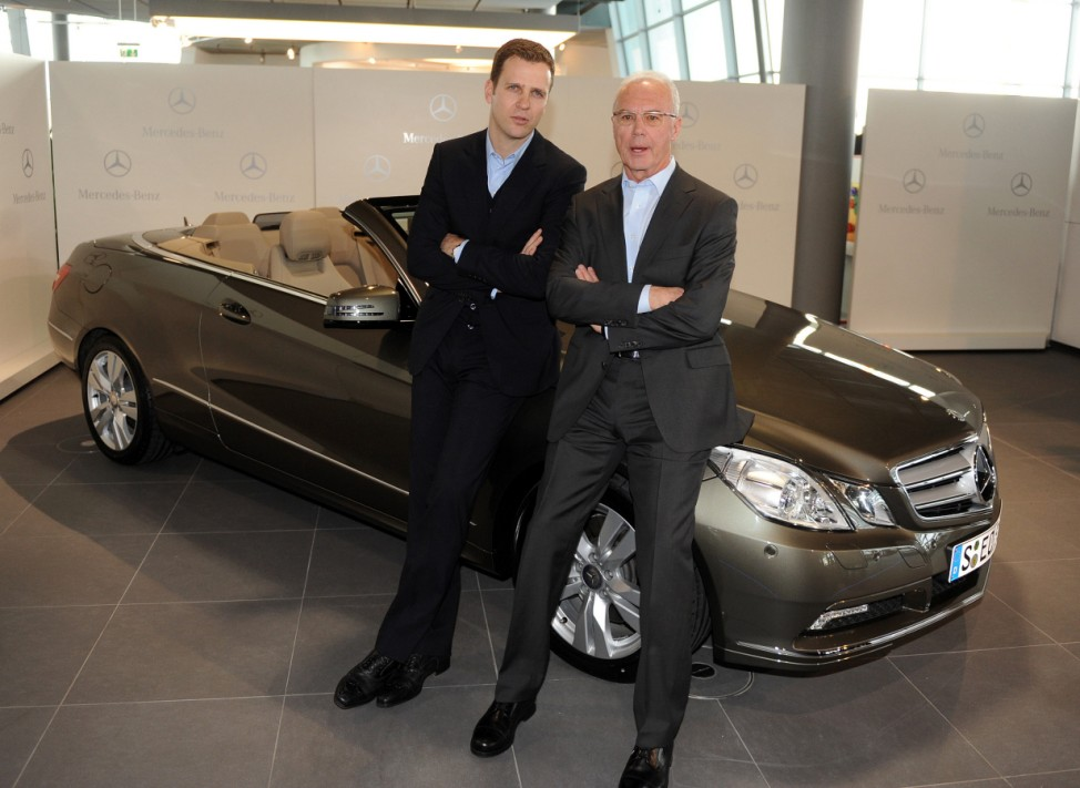 Franz Beckenbauer wird Mercedes Markenbotschafter
