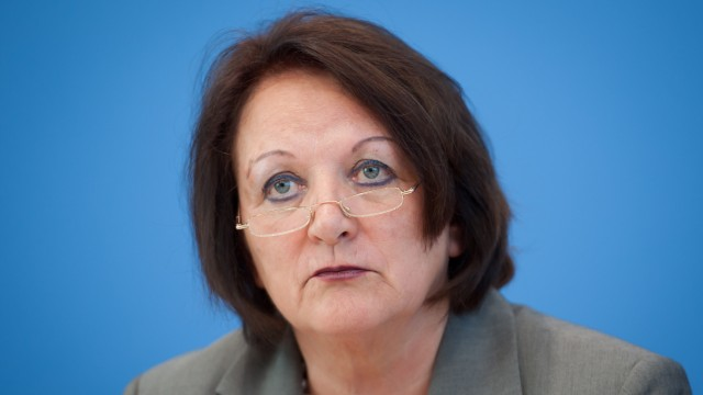 Bundesjustizministerin Leutheusser-Schnarrenberger