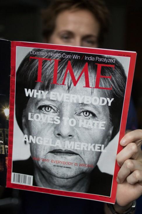 Magazin 'Time' nimmt Merkel gegen Kritik in Schutz