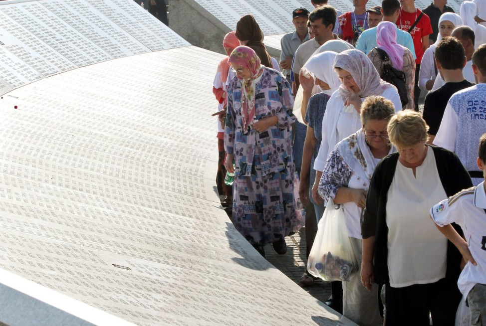 Memorial ceremony to mark the 17th anniversary of the Srebrenica