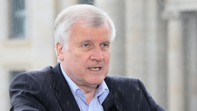 Sommerinterview Seehofer