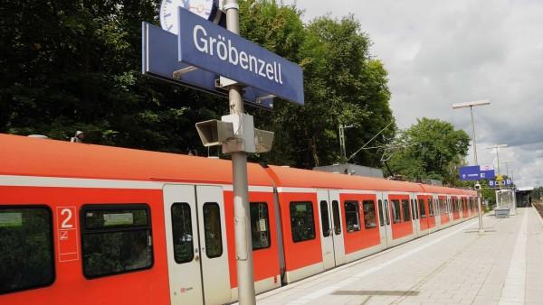 S-Bahn München Bahnhof Gröbenzell