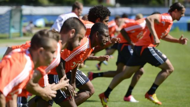 Trainingslager FC Bayern Muenchen