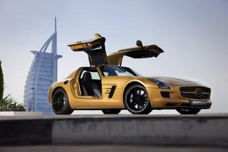 Dubai: SLS AMG Desert Gold