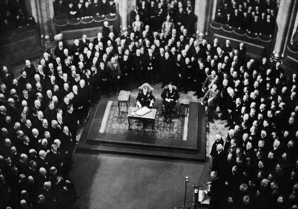 Wahl Stephan Horthys zum Reichsverweser-Stellvertreter, 1942 Scherl / SZ Photo