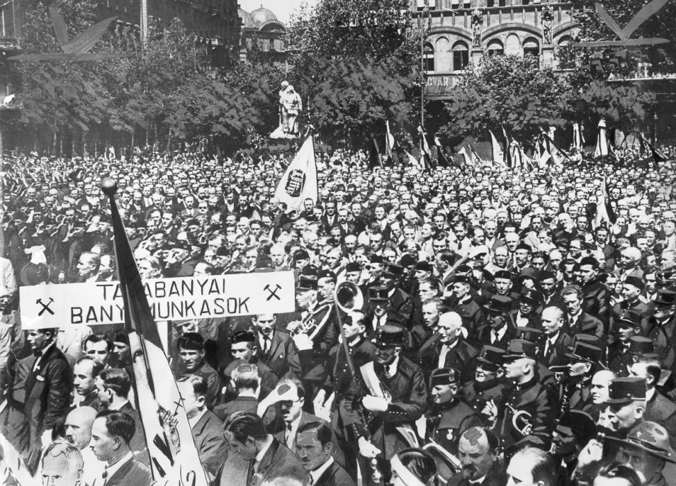 Demonstration gegen den Vertrag von Trianon, 1931
