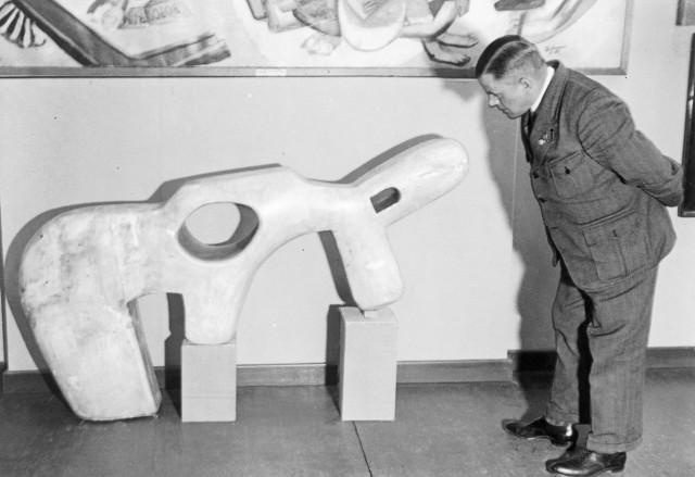 """Ausstellung """"Entartete Kunst"""" in Berlin, 1938"""