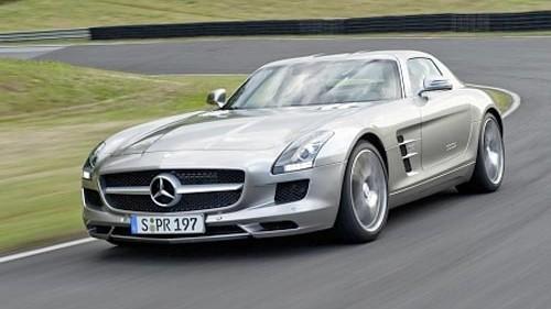 Die Zukunft von Mercedes: Mercedes SLS: endlich wieder ein paar Punkt fürs Image geholt