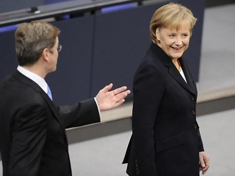 Angela Merkel, CDU, Wahl zur Bundeskanzlerin