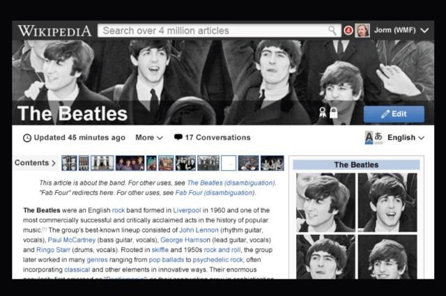 Wikipedia neu