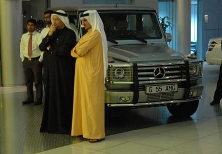 Dubai Mercedes G 55 AMG