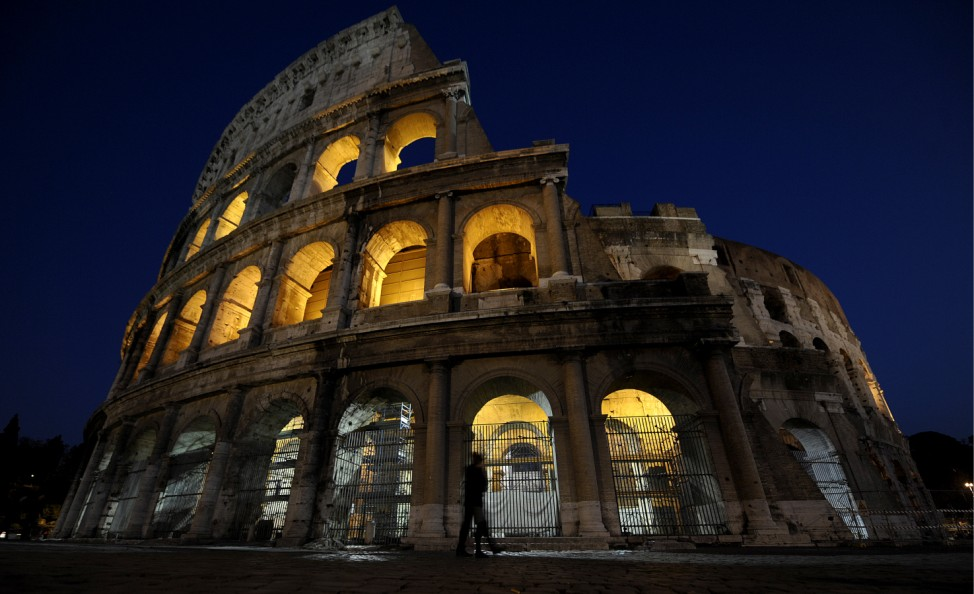 Roms Wahrzeichen zerbroeselt weiter