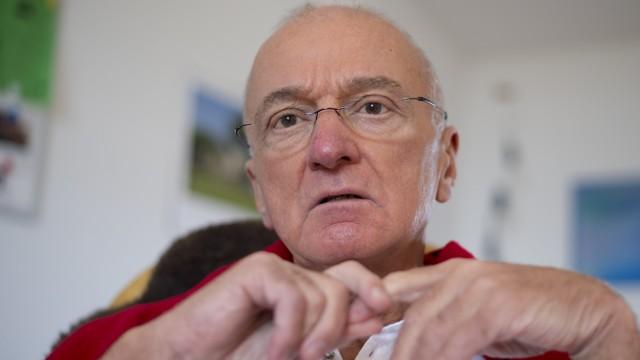 Norbert Denef im Hungerstreik gegen Verjährung von sexuellem Missbrauch